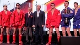 Путин поздравил победителей первого чемпионата Лиги боевого самбо