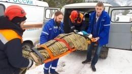 Пять человек пострадали при спуске сгоры под Красноярском
