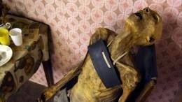 Петербурженка сделала измертвой матери мумию, чтобы нерасставаться сней