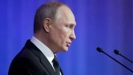 «Мне нужно, чтобы страна развивалась»— Путин ореализации нацпроектов