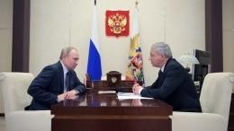 Глава Северной Осетии обсудил сВладимиром Путиным развитие региона