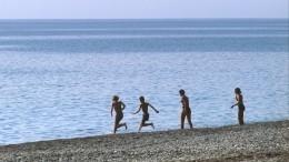 «Накрыло волной»: очевидица отом, как двух детей унесло воткрытое море вСочи