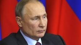 Владимир Путин отметил позитивную роль активности общества поделу Голунова