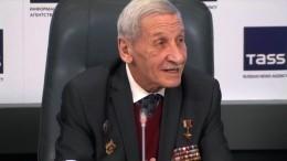 Рассекреченный разведчик-нелегал Юрий Шевченко впервые появился напублике