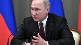 Путин потребовал отполиции предельно жесткой реакции наподлоги ипроизвол