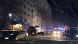 МЧС оценит риск обрушения дома вЭлисте, пострадавшего при взрыве газа
