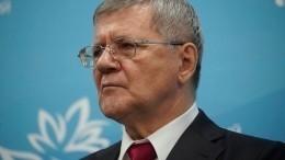 Чайка назвал приоритетом работы наСеверном Кавказе борьбу скоррупцией