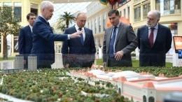 Владимир Путин посетил парк «Остров мечты»