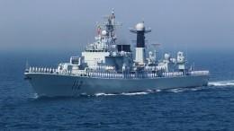 Китайский эсминец вТихом океане направил лазер насамолет-разведчик США