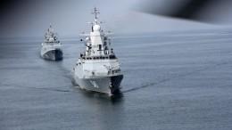 Российские фрегаты скрылатыми ракетами «Калибр» направились кберегам Сирии
