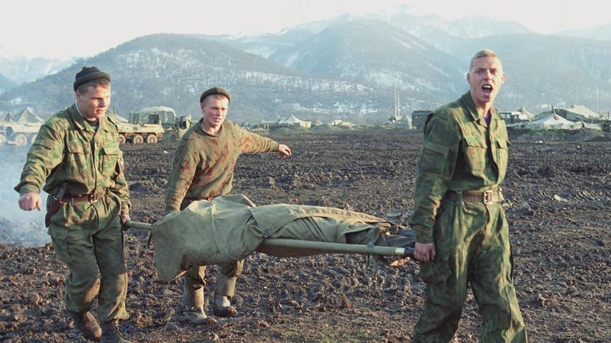 Выжившие бойцы 6-й роты.