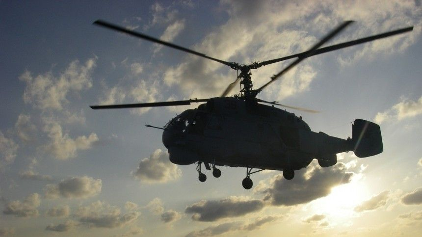 Вертолет потерпел крушение вАстраханской области