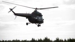 Пилот вертолета мог погибнуть при крушении под Астраханью