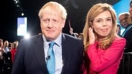 Борис Джонсон объявил опомолвке ипополнении всемье