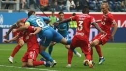 «Зенит» и«Локомотив» сыграли вничью