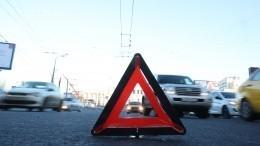 ВПодмосковье инкассаторская машина перевернулась врезультате смерти водителя