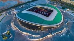 Матч заСуперкубок УЕФА впервые пройдет вКазани