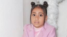 Дочь Ким Кардашьян иКанье Уэста зачитала рэп наНеделе моды вПариже