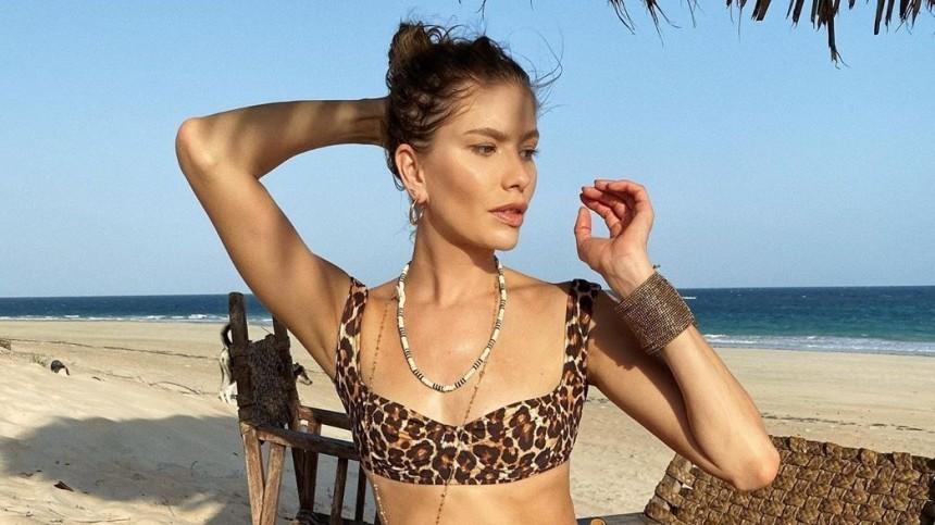 «Как отрывок изфильма»: Перминова покрасовалась вплатье сглубоким декольте нафоне солнечного Парижа