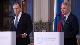 Лавров предупредил ЕСобопасности незаконной миграции изСирии