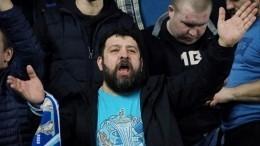 Матч «Зенита» с«Ахматом» прервали из-за поведения фанатов