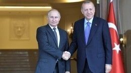 ВМоскве пройдут переговоры Путина иЭрдогана поситуации вИдлибе