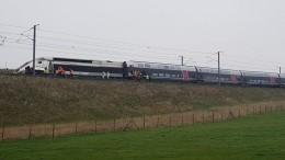 Неменее десяти человек пострадали при сходе срельсов поезда Страсбург-Париж