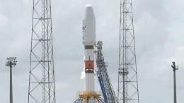Запуск ракеты «Союз-СТ» отложили из-за проблем вразгонном блоке