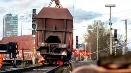 Два грузовых поезда столкнулись под Казанью