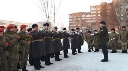 Оркестр Росгвардии сыграл под окнами квартиры ветерана вКемерово накануне 8марта