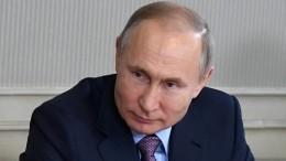 Владимир Путин: воспитание ребенка— высшее счастье для человека