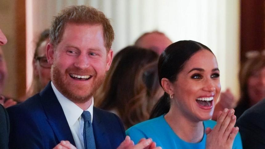 Британцы освистали Меган Маркл ипринца Гарри наблаготворительном вечере вЛондоне