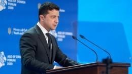 «Прорыва небудет»: вРоссии оценили угрозы Зеленского отказаться отдиалога поДонбассу