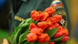 ВМЧС России оригинально поздравили своих сотрудниц с8марта— видео