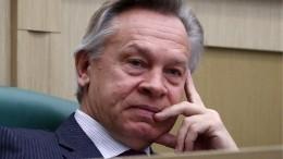 Сумятица вКиеве: Пушков ответил Климкину назаявление окатастрофе вДень Победы