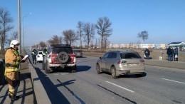 Машину известного петербургского автоблогера заметили вмассовом ДТП