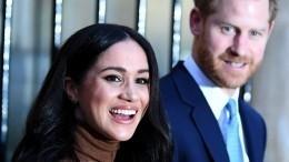 Принц Гарри иМеган Маркл посетили последнюю церемонию как члены монаршей семьи
