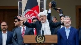 Террористы обстреляли дворец вовремя инаугурации президента Афганистана