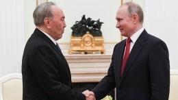 «Стратегический альянс»: Путин охарактеризовал отношения России иКазахстана