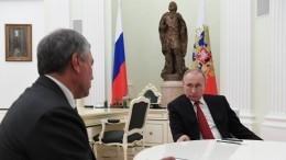 Путин поддержал идею обучастии парламентариев в«нормандском формате»