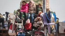 Власти Сирии попросили беженцев вернуться домой