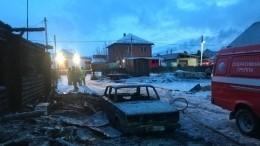 Страшные кадры последствий пожара под Иркутском, где погибли двое детей иихотец