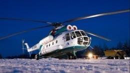 Вертолет Ми-8 благополучно совершил вынужденную посадку вКрасноярске