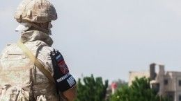 Российский военный погиб вДТП вСирии