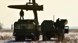 Электронные пуски изкомплексов «Искандер-М» провели ракетчики ВВО