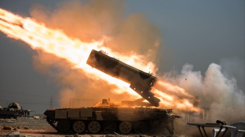 ВВС США нанесла серию ударов попозициям боевиков вИраке