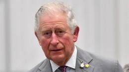 Принц Чарльз дважды заполминуты попал внеловкую ситуацию из-за рукопожатий