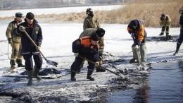 После взрыва котельной иразлива мазута вНаходке введен режим ЧС