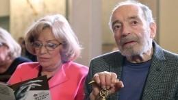 «Онвсе понимает»: супруга Гафта рассказала осостоянии актера после инсульта