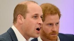 НеМеган Маркл? Стала известна причина разлада между принцами Гарри иУильямом